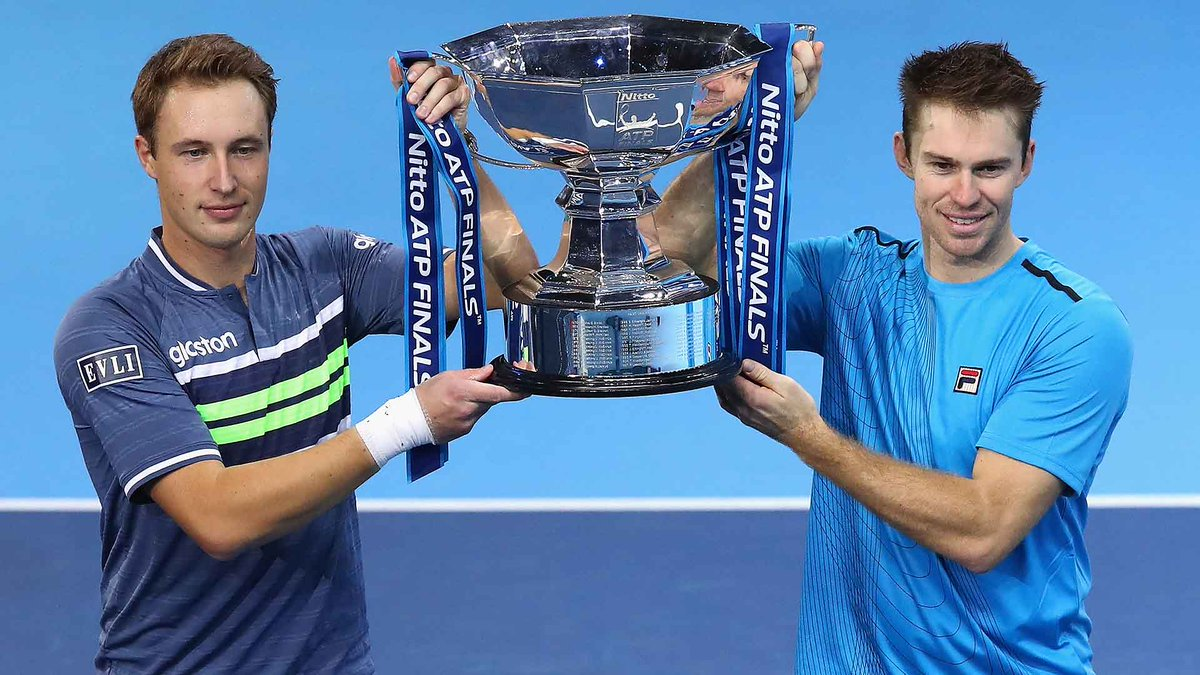 NEWS: Mektic/Peya have withdrawn from the #NittoATPFinals (Peya, elbow). Two-time champions and alternates Kontinen/Peers have replaced them in Group Llodra/Santoro.  #ATP https://t.co/Q85c5U2hwq