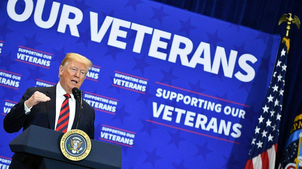 Trump celebrates Veterans Day by pushing to disenfranchise overseas military voters https://t.co/Maxd06Jikp https://t.co/9tMmI5lRDF
