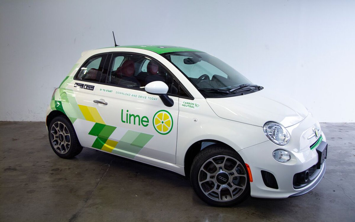 Lime calls these, and I wish I was joking, 'a convenient, affordable, weather-resistant mobility solution for communities'