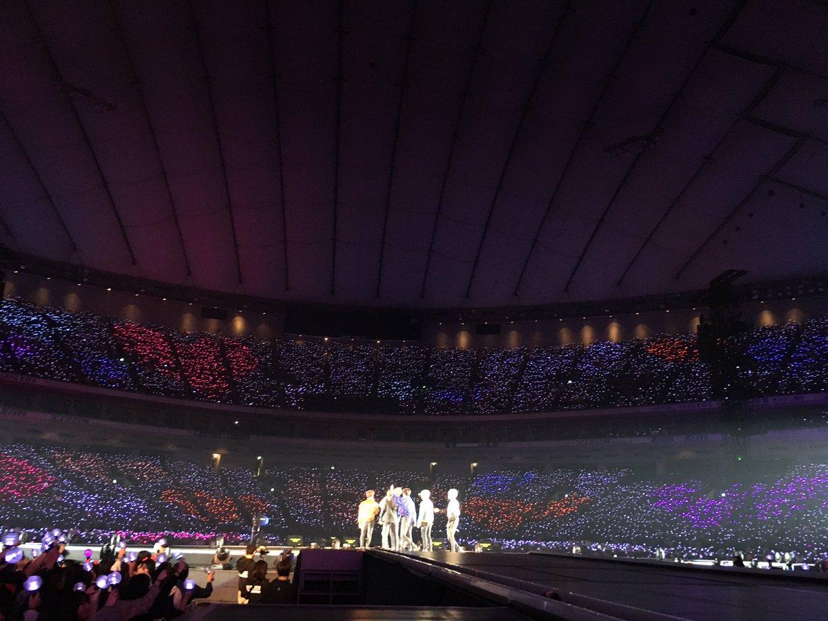 #BTS WORLD STUDIO 'LOVE YOURSELF' ~JAPAN EDITION~ 東京ドーム2日目!今日も幸せにしてくれてあざっす♪これから僕たちがもっとハッピーにしてあげますね〜ムラサキするよ?