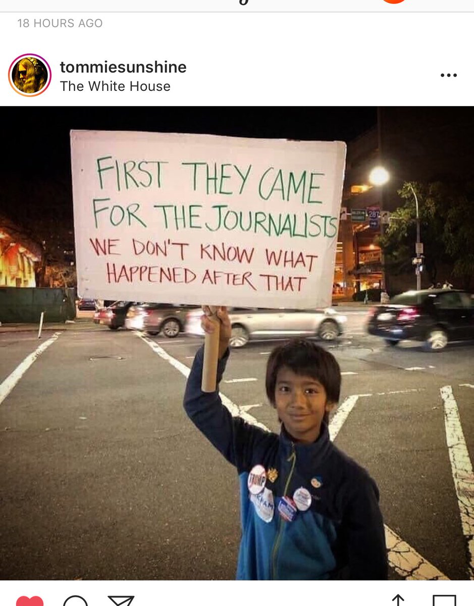 Protect the free press. H/t @tommiesunshine