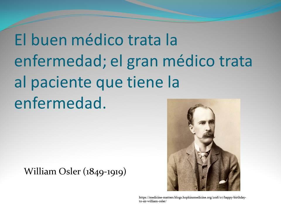 William Osler Frases