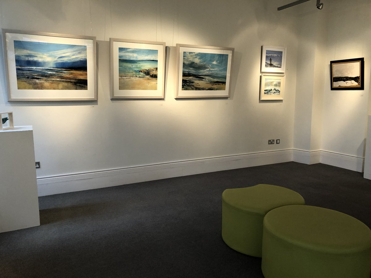 test Twitter Media - Just a few of the 80+ artworks in @colerainearts 70th anniversary exhibition. This stunning show represents the work of many fabulous #causeway artists and is not to missed! Such a wide range & many for sale. Exhibition continues to 30 November ✨ #artsmatterni https://t.co/o4pTyN9ujZ