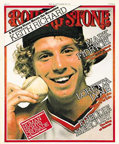 "Tigers History on Twitter: ""May 5, 1977: Mark Fidrych appears on the cover  of Rolling Stone. Remains the only baseball player to appear on the cover  https://t.co/AORL7FbDRO… https://t.co/DWrdcJUmRb"""