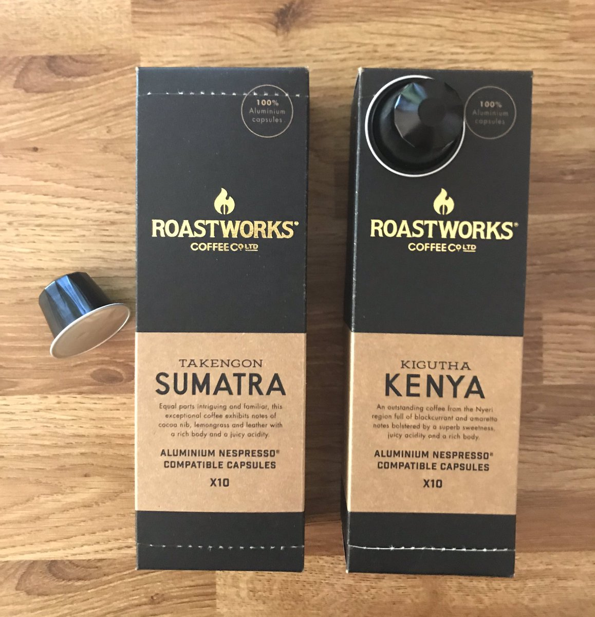 Well This Is New On Twitter Roastworks Coffee Pods
