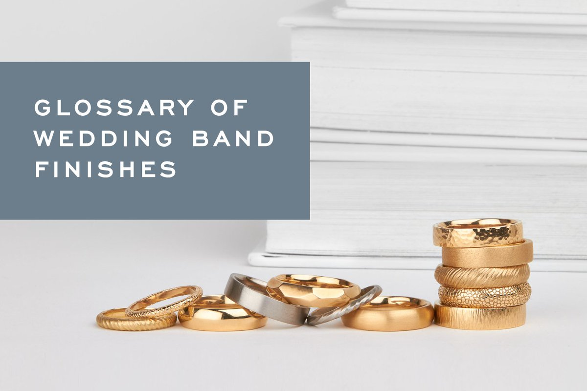 Which of these wedding ring surface textures appeals to you?