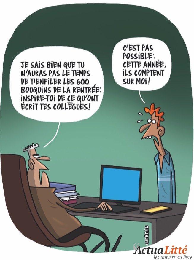 """Antoine Chereau Cartoonist auf Twitter: """"#edition #auteur #critique #Humour  #humour #livres #libraires #librairie @antoinechereau1 @le_Parisien  @lemondefr @librairiefrance @librairie Mollat @lagrandelibrairie…  https://t.co/nbTucuH0Nz"""""""