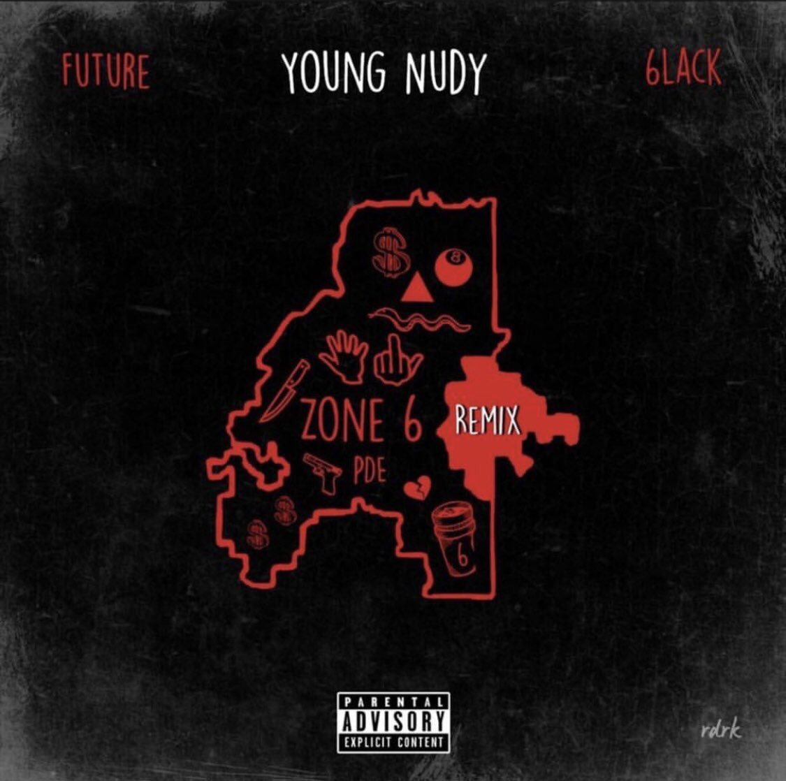 "a collab: @PDE_YOUNGNUDY ft. @1future & myself- ""Zone 6 Remix"" 🐍💌 🦅 itunes.apple.com/us/album/zone-…"