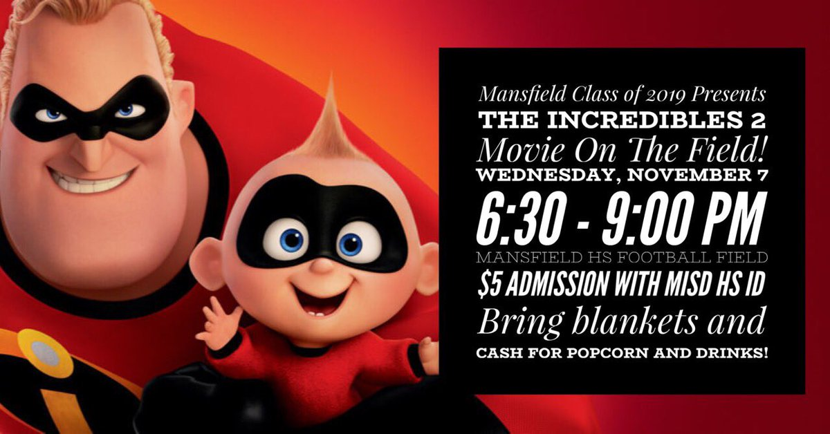 Hey Seniors!! Everyone should come out and support the senior class!! It's going to be an *Incredible* night‼️