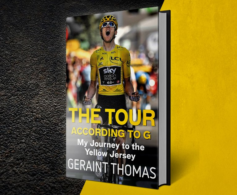 If you haven't already got your hands on one yet, go and grab @GeraintThomas86 new book!