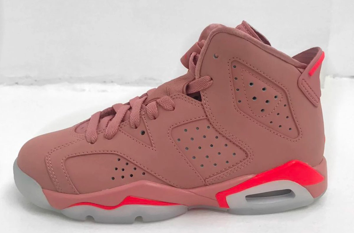 Aleali May's 'Millennial Pink' Air Jordan 6 rumored to drop next spring: https://t.co/6ZJDFm1EVY