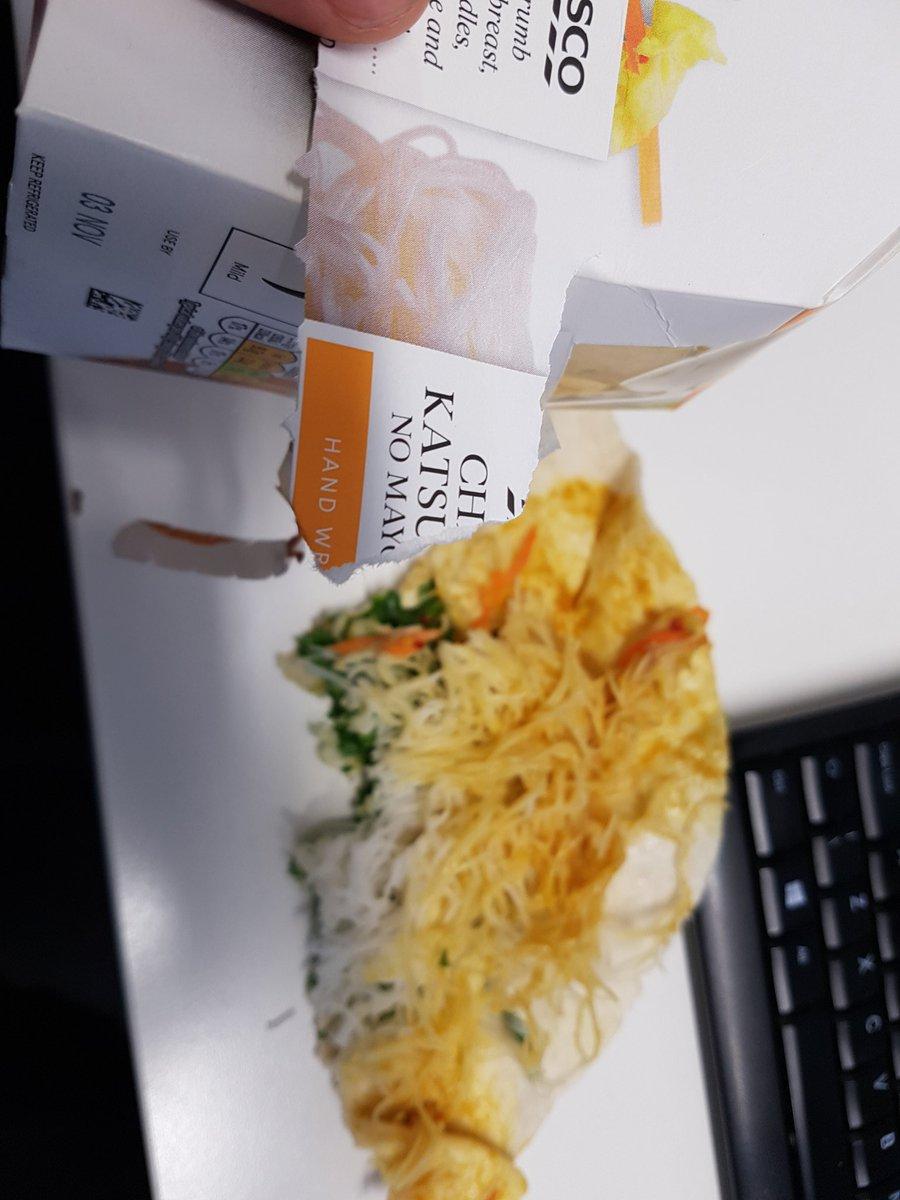 Jon On Twitter At Tesco Bought A Chicken Katsu Curry Wrap