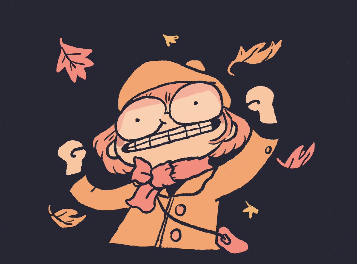 My favorite fall activity is watching summer die 🍁