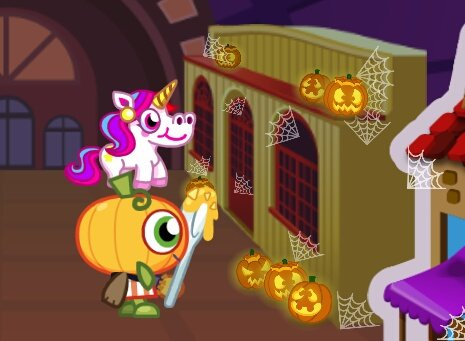 Thumpkin just having a family reunion #moshiegghunt #moshimonsters