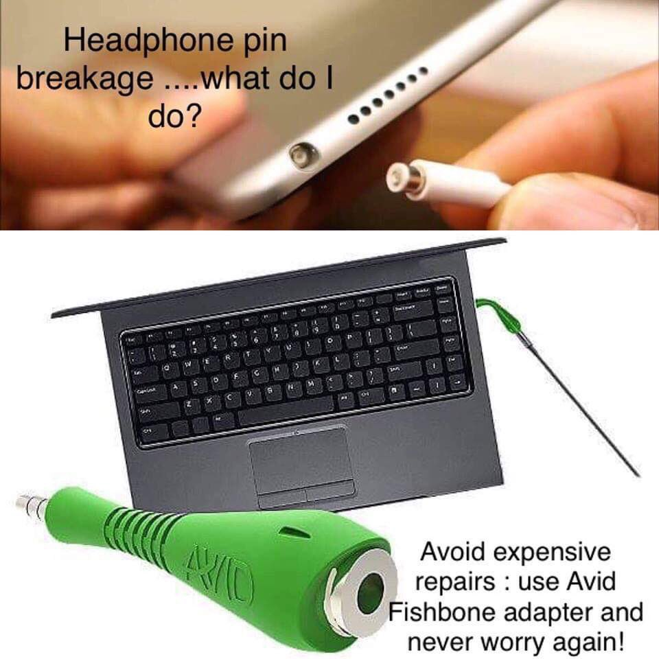 Looking to never break another #headphone pin again ? Use #Avideducation #Fishbone adapter only $2.45 - IN STOCK !😀 Follow us on social media 😀🎧💻 Call toll free 866 926 1669 https://www.encoredataproducts.com/   #purchasing #procurement #ipad #chromebook #headsets  #schoolsupplies #school