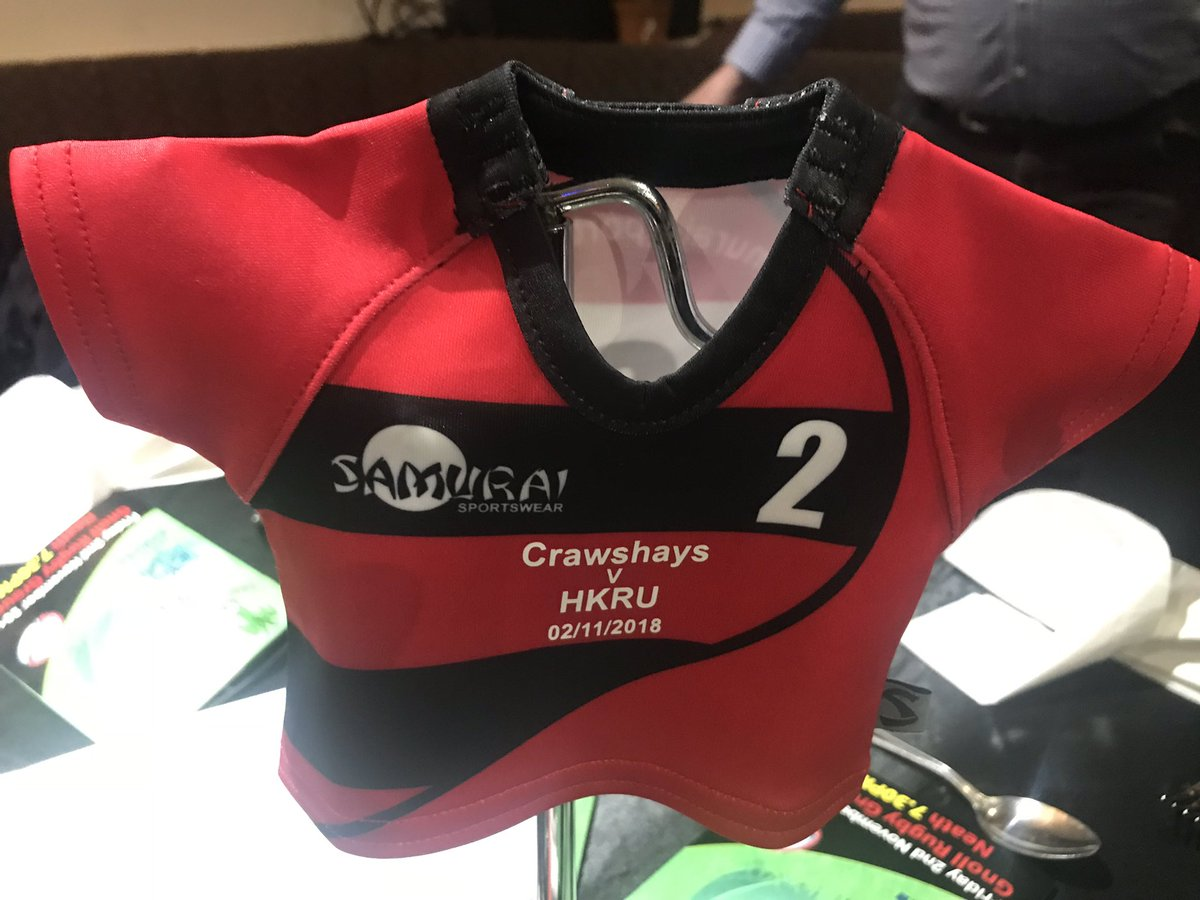 test Twitter Media - Preparing for the #crawshays #hongkong match at Neath. Like our mini table stand shirts? https://t.co/PyS6ccxgdo