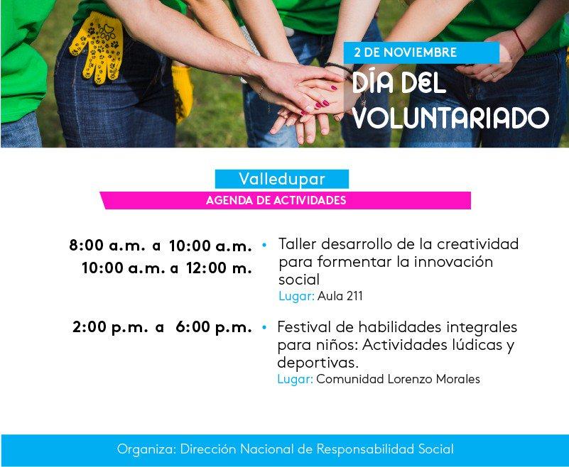 Y ahora para 🛣 #LorenzoMorales a conmemorar el día del Voluntariado con los estudiantes de #EntrenamientoDeportivo 🏀👫💃  Festival de Habilidades Motrices.