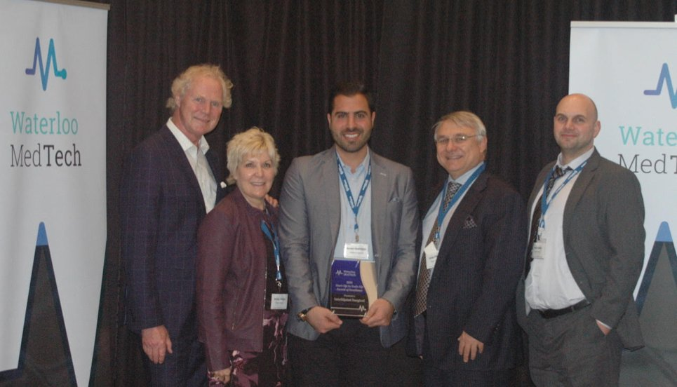 Following our Start-Up to Scale-Up Award of Excellence from this year's @WaterlooMedTech conference, we're committed to continue advancing the #MedTech ecosystem in #WaterlooRegion https://www.intellijointsurgical.com/news-and-events/intellijoint-surgical-receives-inaugural-start-up-to-scale-up-award-of-excellence-from-waterloo-medtech/… …