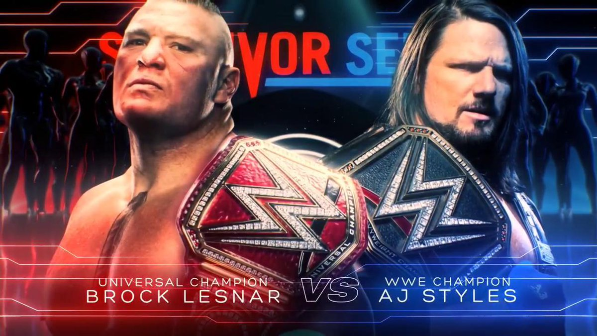WWE Announces Major Survivor Series Match