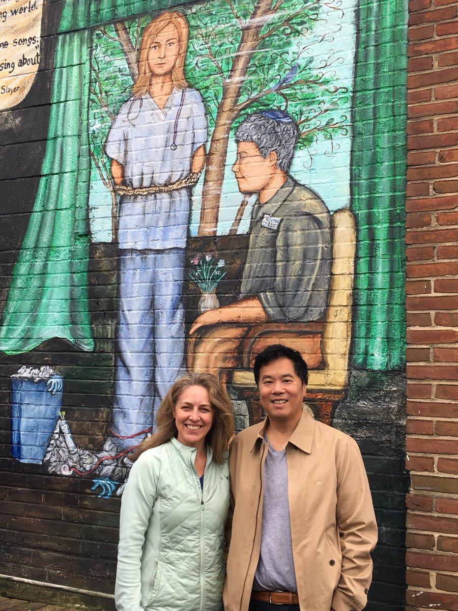 A national health care landmark: the #73cents mural https://t.co/RoisphWsCs
