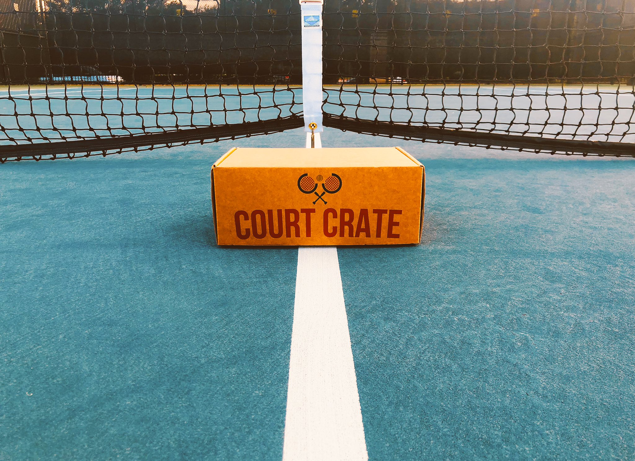 Court Crate subscription box for sports fan