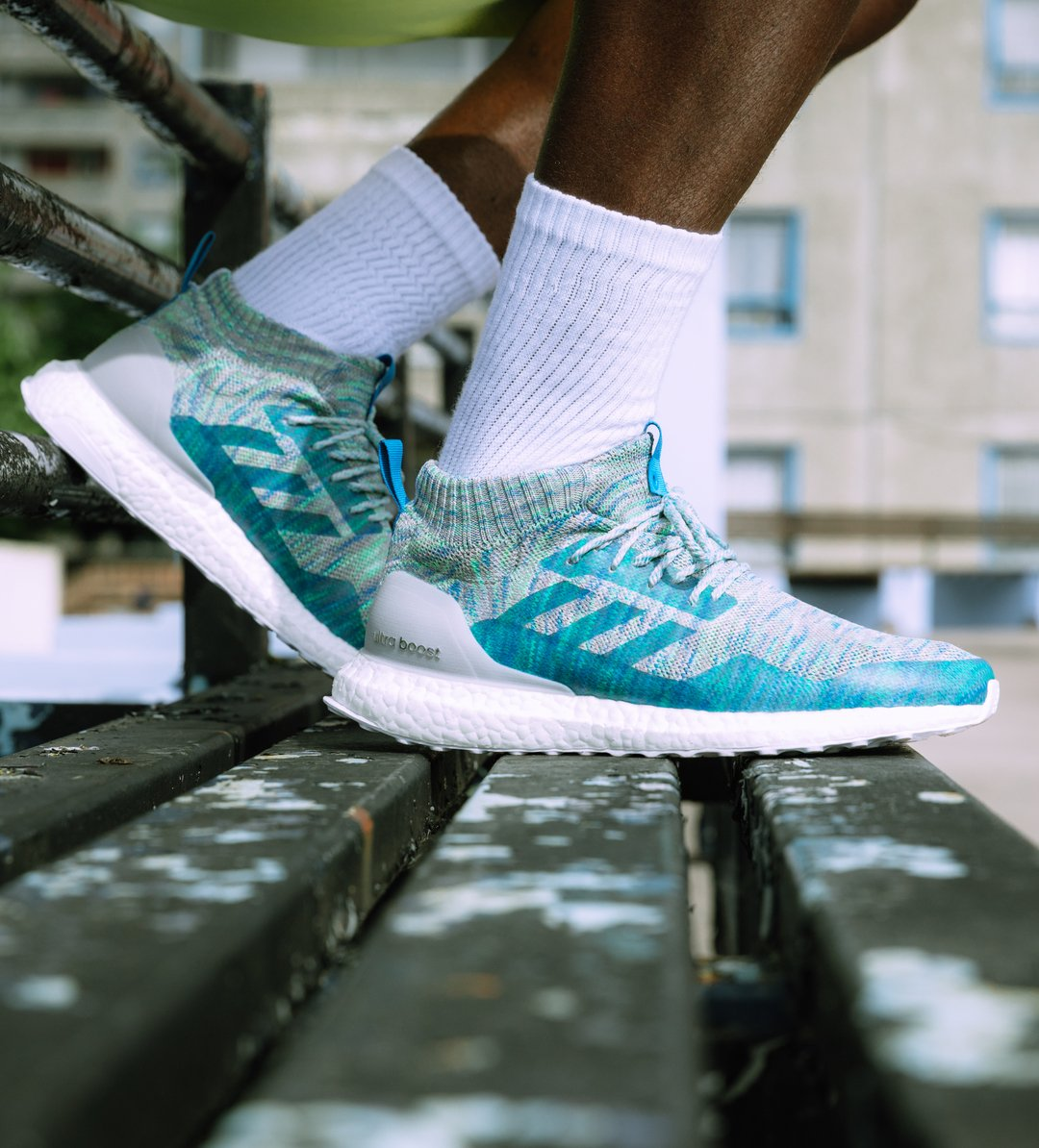 ultra boost mid on foot
