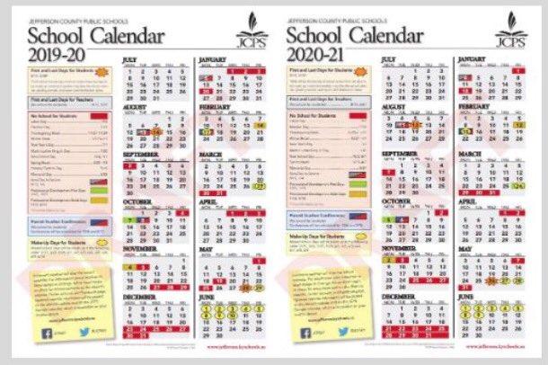 Jcps 2020-21 Calendar JCPSSpotlight on Twitter: