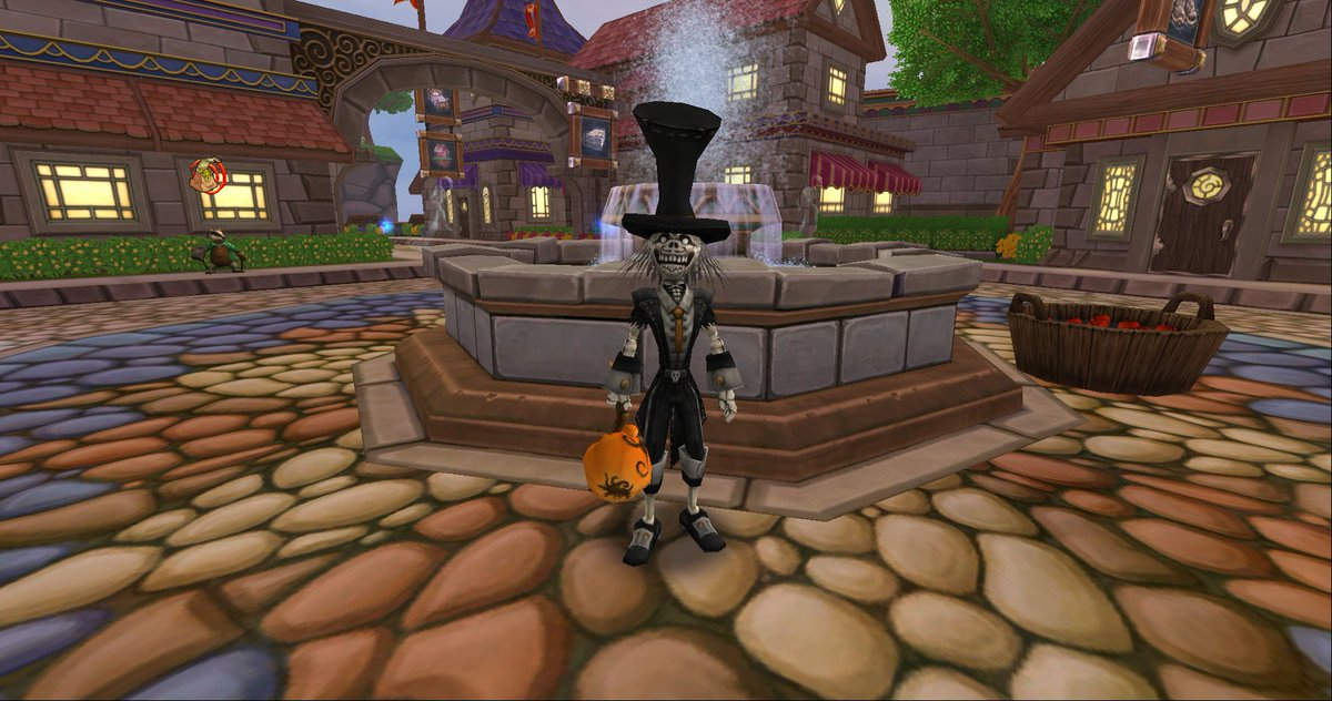 Wizard101 On Twitter Halloween Is Leaving The Spiral Until Next