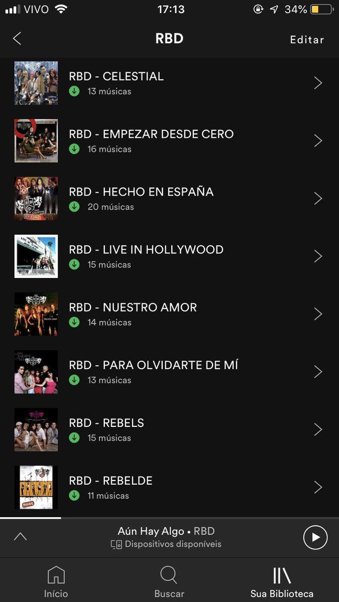 HAY BAIXAR RBD AUN MUSICA ALGO