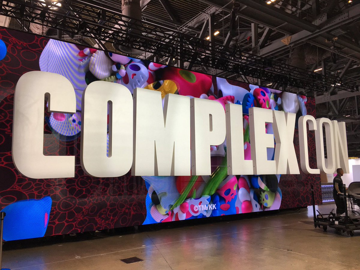 Visit us tomorrow at Booth #J13 at @ComplexCon !