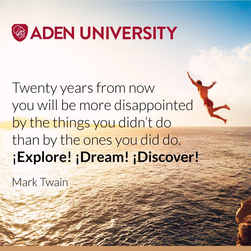 ADEN University on Twitter: