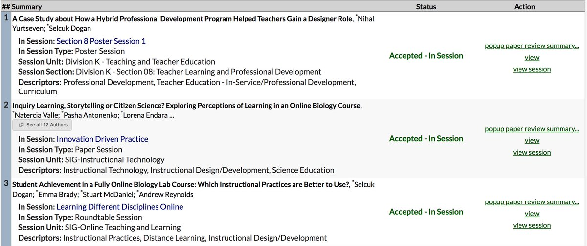 Selcuk Dogan On Twitter 3 3 Proposals Have Been Accepted Aera19 Aera2019 Student Achievements And Storytelling In An Online Course Professional Development Focusing On Teacher As A Designer Egt Egtarastirma Road To Canada