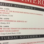 Lots going on next couple of days at the @commsource learning center .. find us on the schedule. @ccim