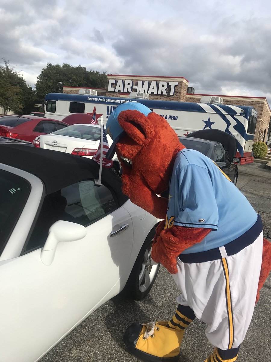 Auto Mart Montgomery Al >> Montgomery Biscuits On Twitter Big Mo Looking For A