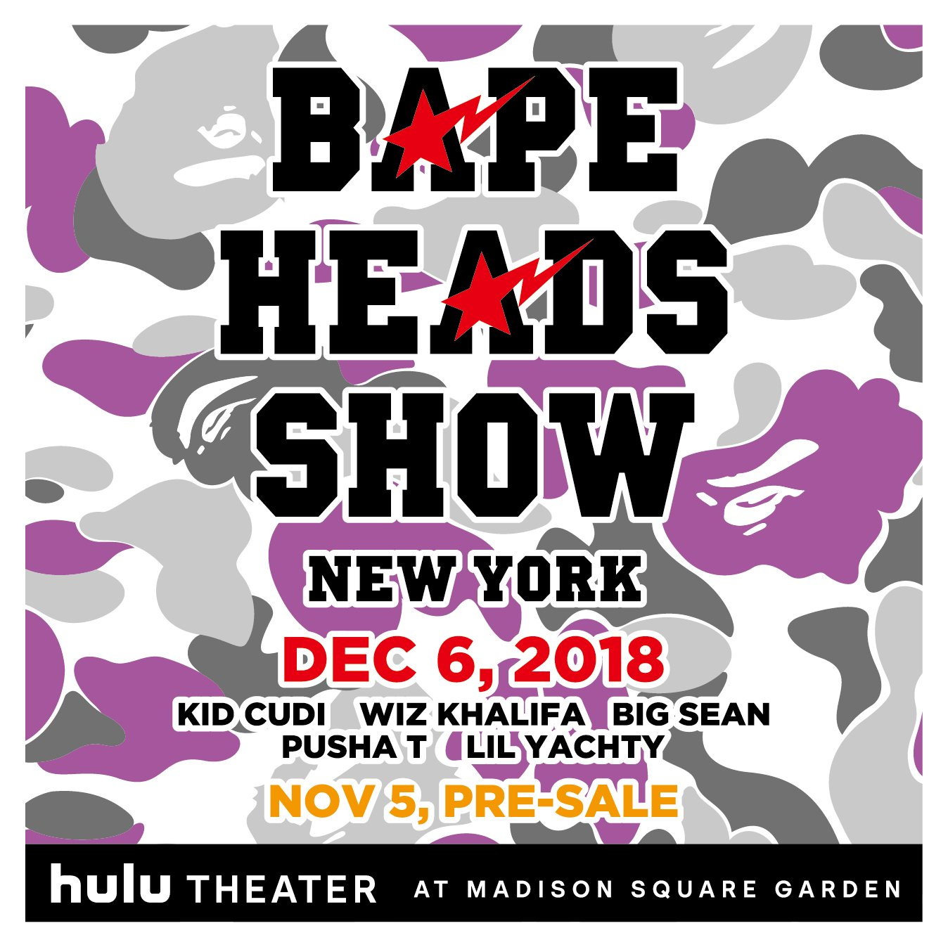 See you December 6th at Bape Heads Show. https://t.co/5HcImvSkd5 https://t.co/CpQJoqL0jM