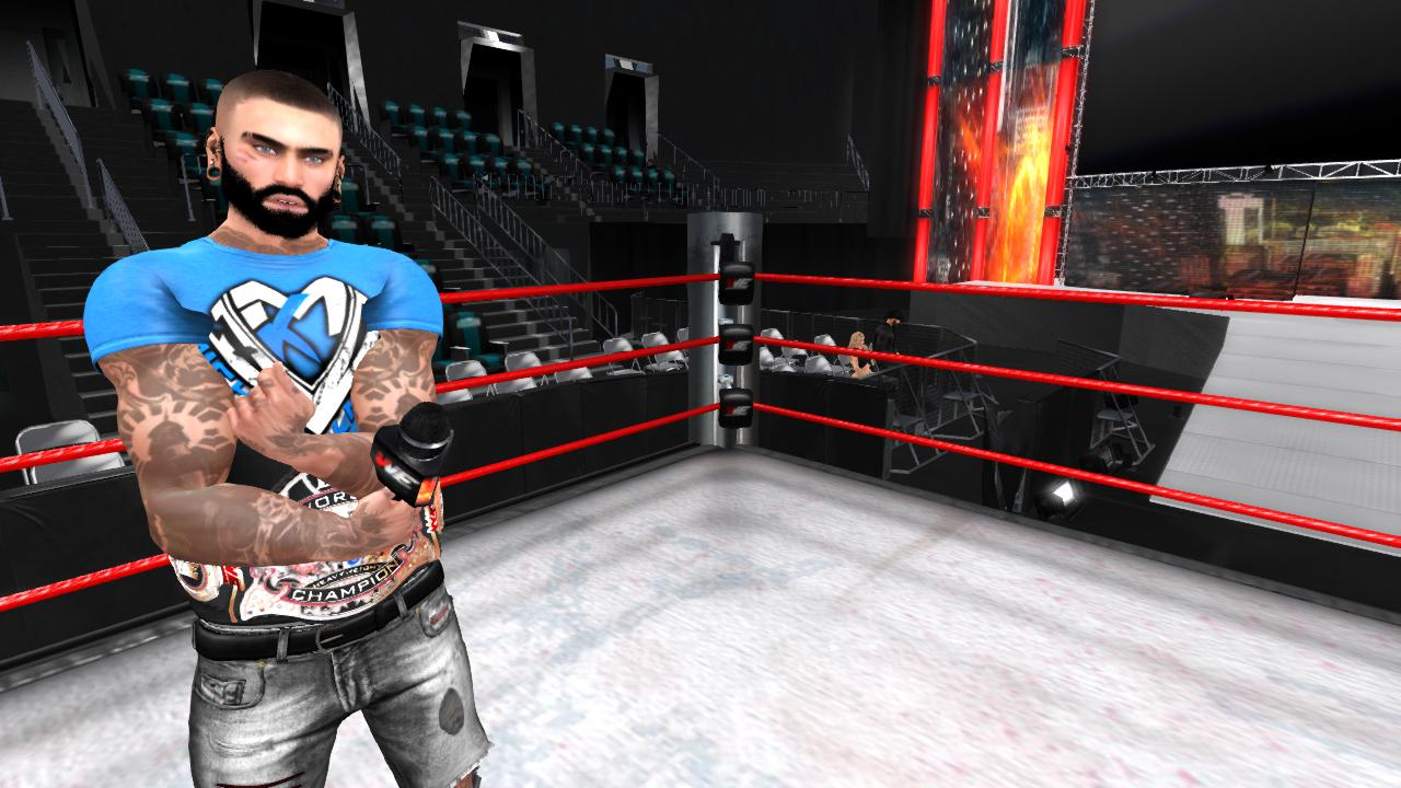 VWE Heavyweight Champion Michael Karsin