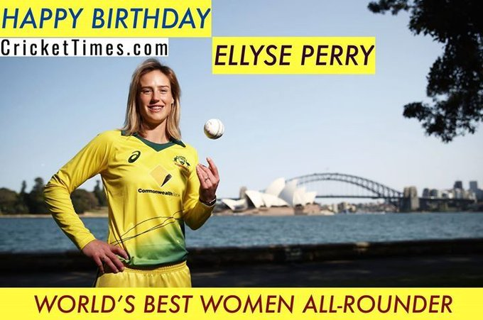 Happy Birthday, Ellyse Perry
