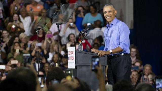 df8d1deb9 Obama responds to heckler  Why are folks who won the last election  so mad