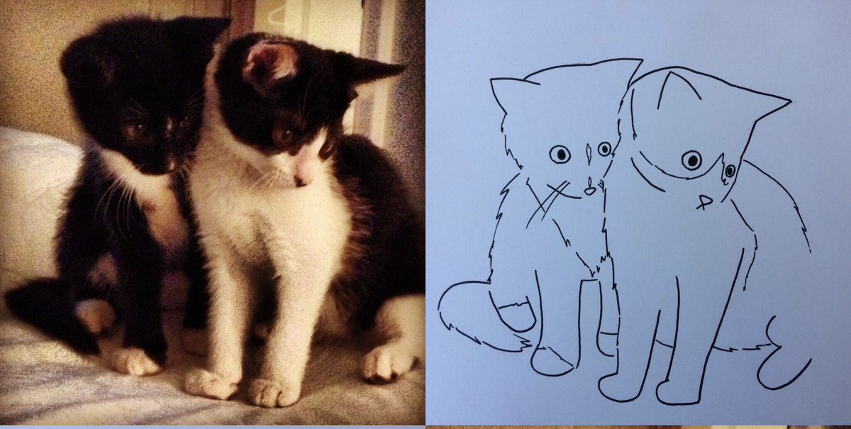 Thank you @poorlycatdraw - you made these two troublemakers seem so sweet and innocent!