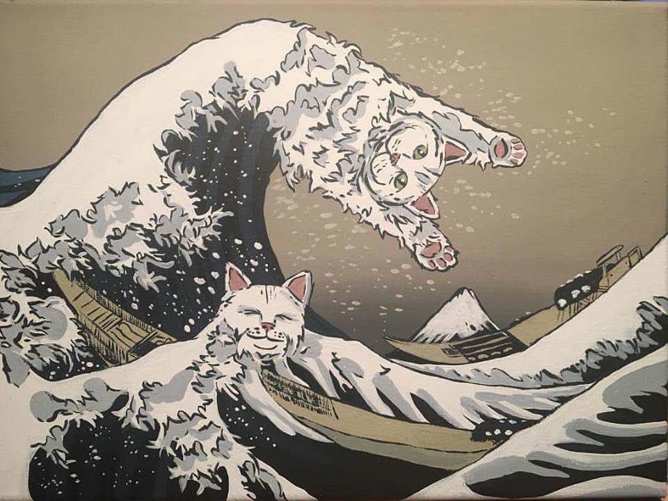もしも、チューブを絞ったら歯磨き粉ではなく白猫が出てきたら?