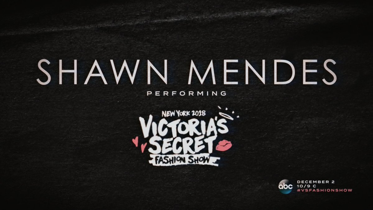 RT @ShawnAccess: Watch @ShawnMendes performing on the #VSFashionShow on December 2nd, 10/9c on @ABC! https://t.co/VNtzV9GPwL