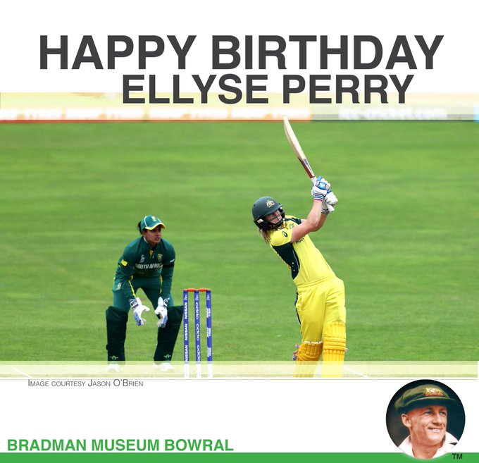 Happy Birthday to   Ellyse Perry, 28 today!
