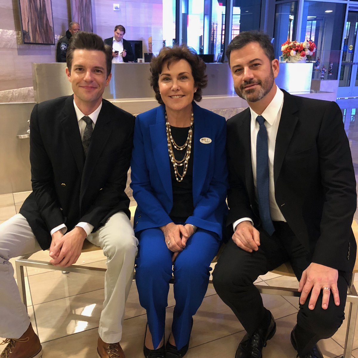 Rallying for Nevada with @BrandonFlowers & @RosenforNevada in #Vegas to protect our health care. #NVSen #VOTE