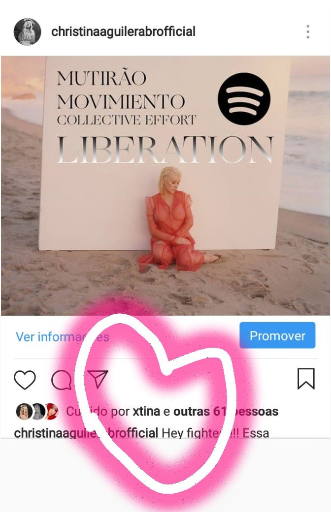 If @xtina liked it, it's because she's joining our movement to stream Liberation Worldwide. Christina is watching our social medias .Hey fighters!!!  https://open.spotify.com/user/223dmx6mabgl56p5cgzn4l2ky/playlist/2AS5oRihg22DrkS5PhoSWc?si=mdb7lw5RTUqe8yZUck8Jug …  #StreamLiberationNOW #Xtina #christinaaguilerabr pic.twitter.com/j4AJWuPVTg