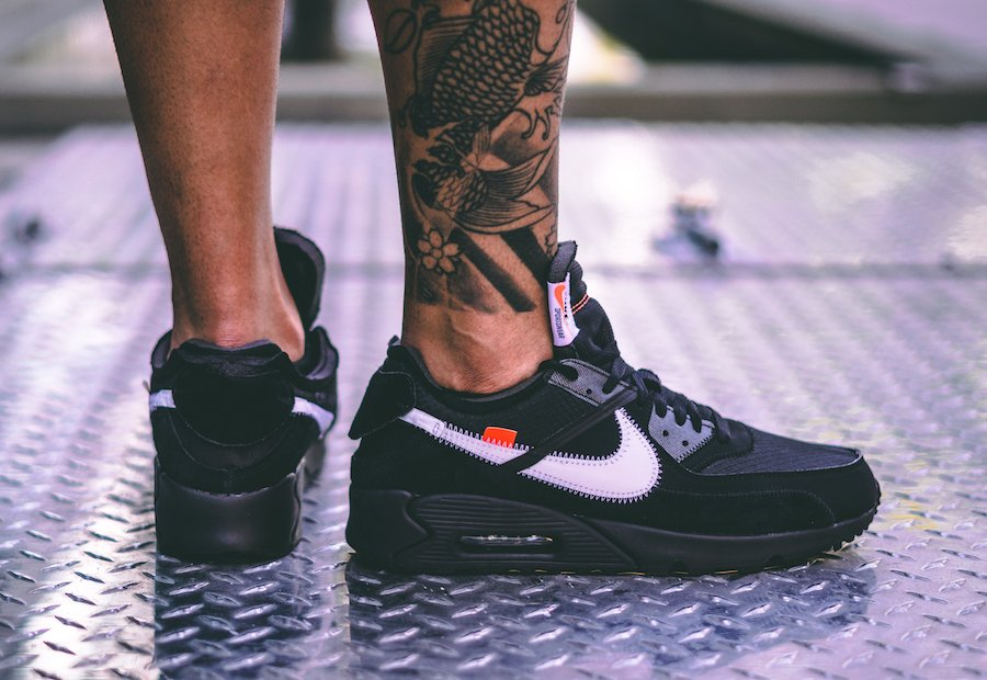 air max 90 off white black outfit
