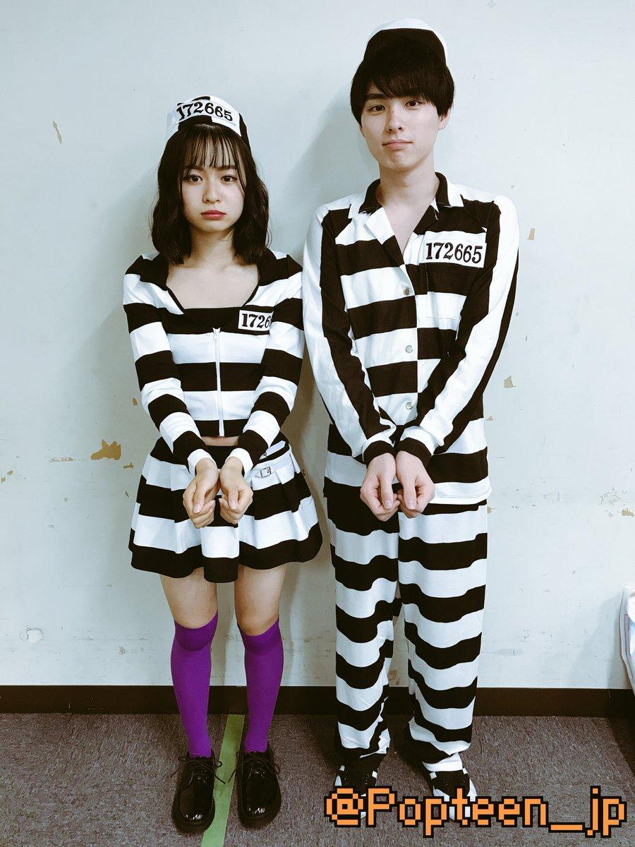 過ぎちゃったけど……ららぽーとの時のハロウィン写真いっぱいあるので、みなさんお付き合いください(*´-`)  #POPなオフショット #囚人1号囚人2号 #シンデレラとママ母