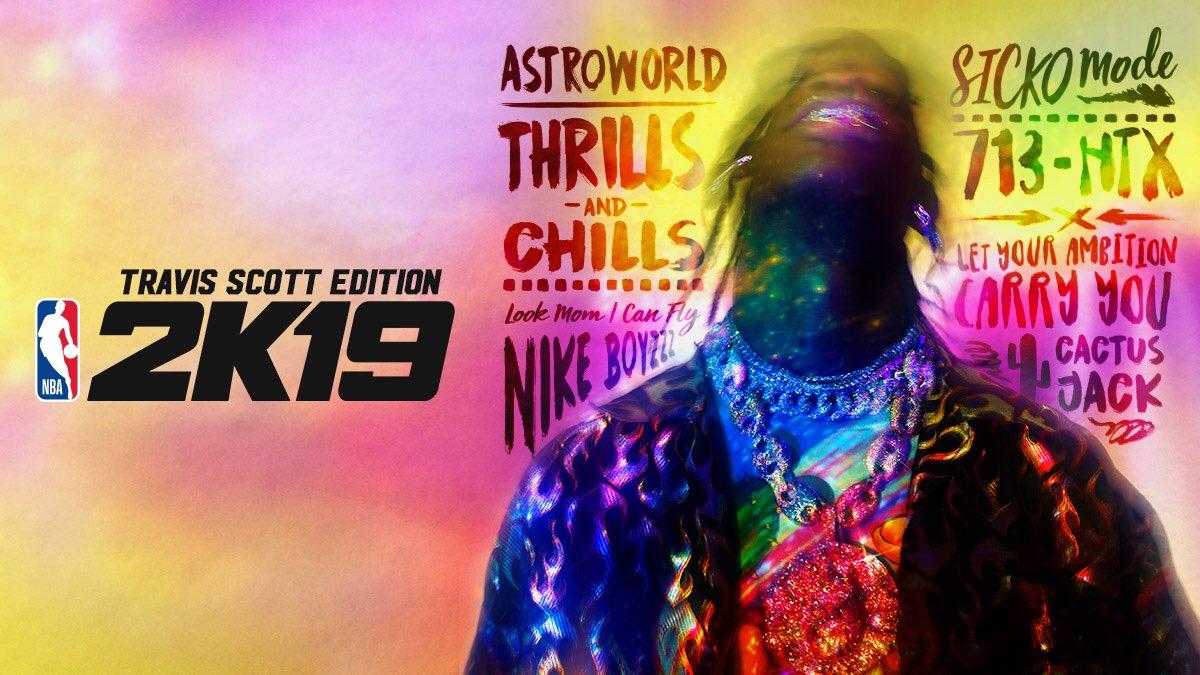Nba 2k19 limited edition travis scott | NBA 2K19 Travis