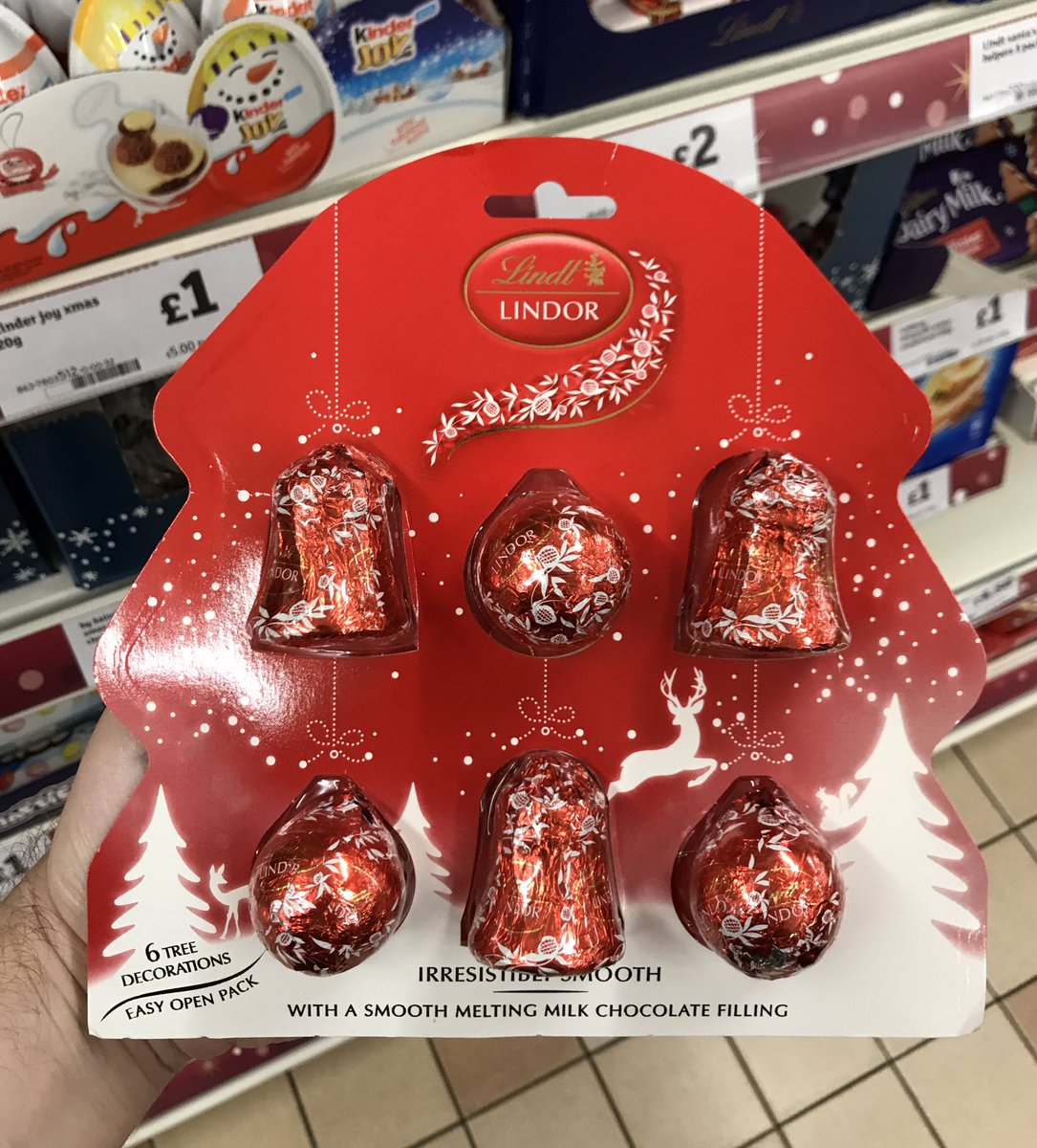 Well This Is New On Twitter Lindt Linder Christmas Tree