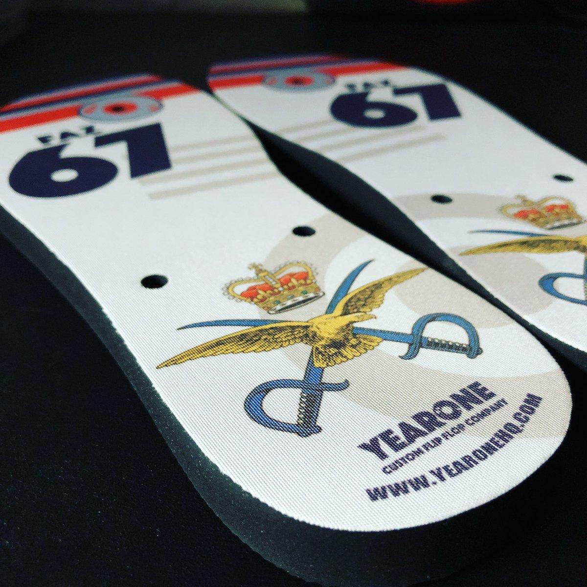 c5c51bb8d10a Yearone Custom Flip Flops on Twitter