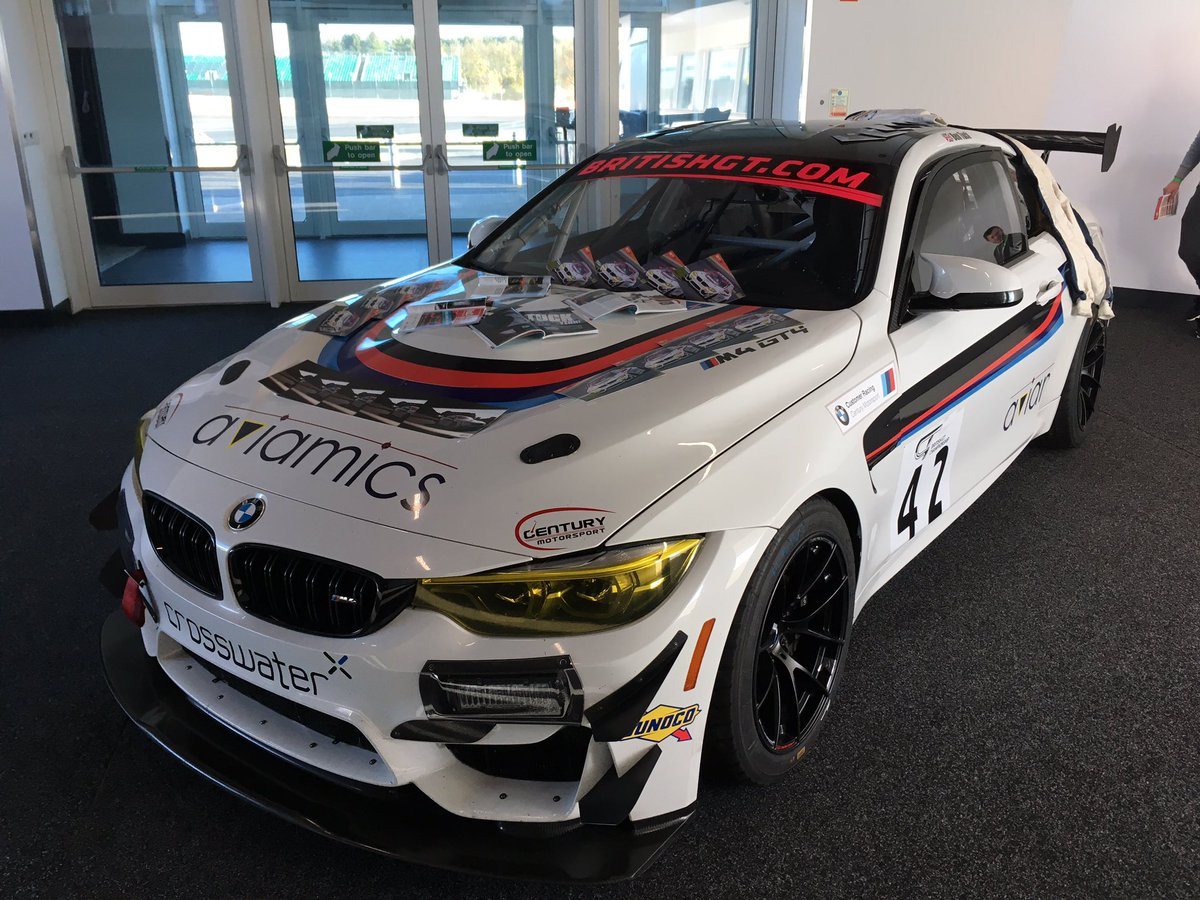 If you're at https://t.co/loPtW5CPCo Live event @SilverstoneUK today then head down to Hall 1 where we have our  @Century_Msport BMW M4 GT4 or head to Garage 11 where we're giving passenger hot laps with @PTSportscars #TeamBTR  #TeamBTR